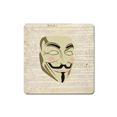 We The Anonymous People Magnet (Square)