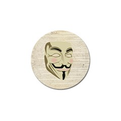 We The Anonymous People Golf Ball Marker