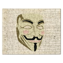 We The Anonymous People Jigsaw Puzzle (Rectangle)