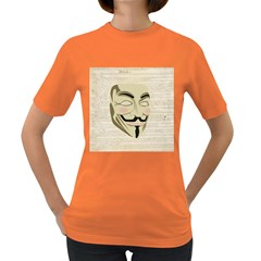 We The Anonymous People Women s T Shirt (colored)