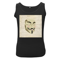 We The Anonymous People Women s Tank Top (Black)