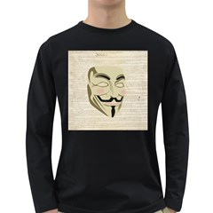 We The Anonymous People Men s Long Sleeve T Shirt (dark Colored)