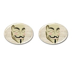 We The Anonymous People Cufflinks (Oval)