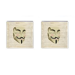 We The Anonymous People Cufflinks (square)