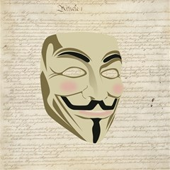 We The Anonymous People Canvas 16  X 16  (unframed)