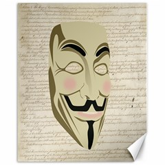 We The Anonymous People Canvas 16  x 20  (Unframed)