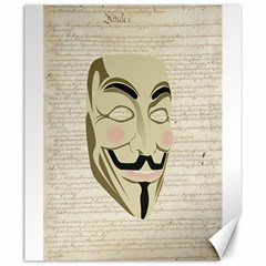 We The Anonymous People Canvas 20  X 24  (unframed)