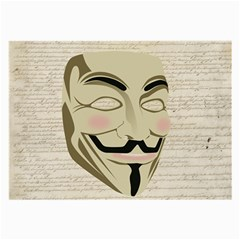 We The Anonymous People Glasses Cloth (Large)