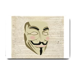We The Anonymous People Small Door Mat