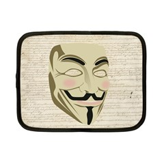 We The Anonymous People Netbook Sleeve (small)