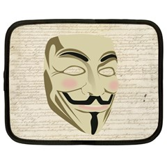 We The Anonymous People Netbook Sleeve (xxl)