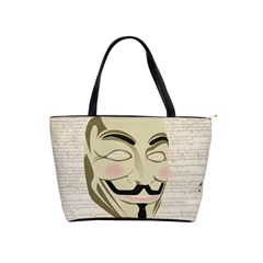 We The Anonymous People Large Shoulder Bag