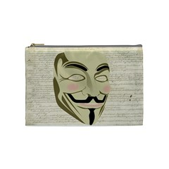 We The Anonymous People Cosmetic Bag (medium)