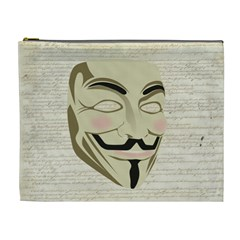 We The Anonymous People Cosmetic Bag (xl)