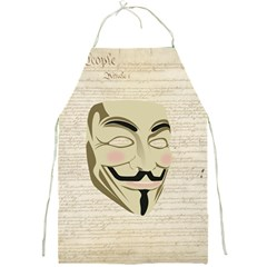 We The Anonymous People Apron