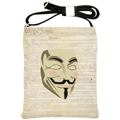 We The Anonymous People Shoulder Sling Bag
