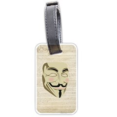 We The Anonymous People Luggage Tag (One Side)