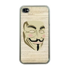We The Anonymous People Apple Iphone 4 Case (clear)