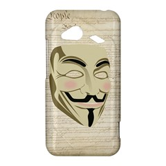 We The Anonymous People HTC Droid Incredible 4G LTE Hardshell Case