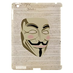 We The Anonymous People Apple Ipad 3/4 Hardshell Case (compatible With Smart Cover)