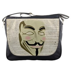 We The Anonymous People Messenger Bag
