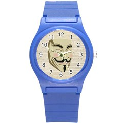 We The Anonymous People Plastic Sport Watch (Small)