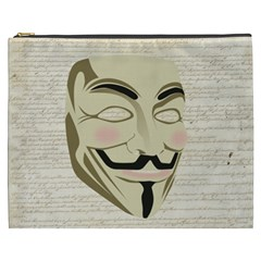 We The Anonymous People Cosmetic Bag (XXXL)