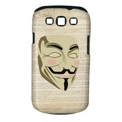 We The Anonymous People Samsung Galaxy S III Classic Hardshell Case (PC+Silicone)