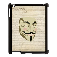 We The Anonymous People Apple iPad 3/4 Case (Black)