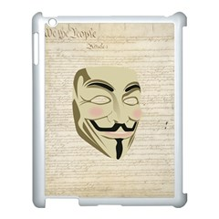 We The Anonymous People Apple Ipad 3/4 Case (white)