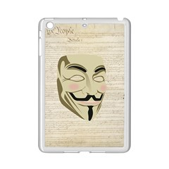 We The Anonymous People Apple iPad Mini 2 Case (White)