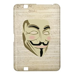We The Anonymous People Kindle Fire HD 8.9  Hardshell Case