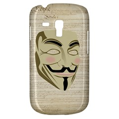 We The Anonymous People Samsung Galaxy S3 MINI I8190 Hardshell Case