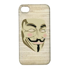 We The Anonymous People Apple iPhone 4/4S Hardshell Case with Stand
