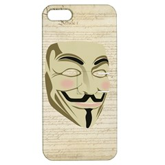 We The Anonymous People Apple iPhone 5 Hardshell Case with Stand