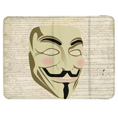 We The Anonymous People Samsung Galaxy Tab 7  P1000 Flip Case