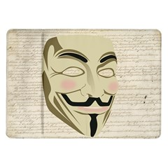 We The Anonymous People Samsung Galaxy Tab 10.1  P7500 Flip Case