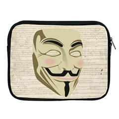 We The Anonymous People Apple iPad Zippered Sleeve