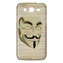 We The Anonymous People Samsung Galaxy Mega 5.8 I9152 Hardshell Case
