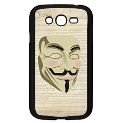 We The Anonymous People Samsung Galaxy Grand Duos I9082 Case (black)