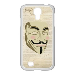 We The Anonymous People Samsung GALAXY S4 I9500/ I9505 Case (White)