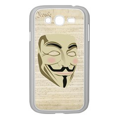 We The Anonymous People Samsung Galaxy Grand DUOS I9082 Case (White)