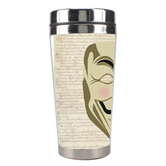 We The Anonymous People Stainless Steel Travel Tumbler