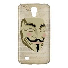 We The Anonymous People Samsung Galaxy Mega 6.3  I9200 Hardshell Case