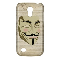 We The Anonymous People Samsung Galaxy S4 Mini (gt I9190) Hardshell Case
