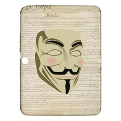 We The Anonymous People Samsung Galaxy Tab 3 (10 1 ) P5200 Hardshell Case