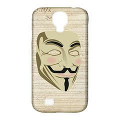 We The Anonymous People Samsung Galaxy S4 Classic Hardshell Case (PC+Silicone)