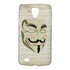 We The Anonymous People Samsung Galaxy S4 Active (i9295) Hardshell Case