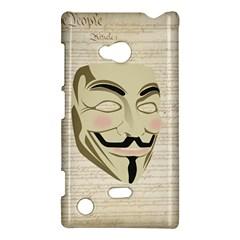 We The Anonymous People Nokia Lumia 720 Hardshell Case