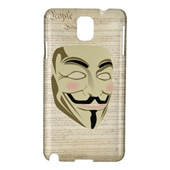 We The Anonymous People Samsung Galaxy Note 3 N9005 Hardshell Case